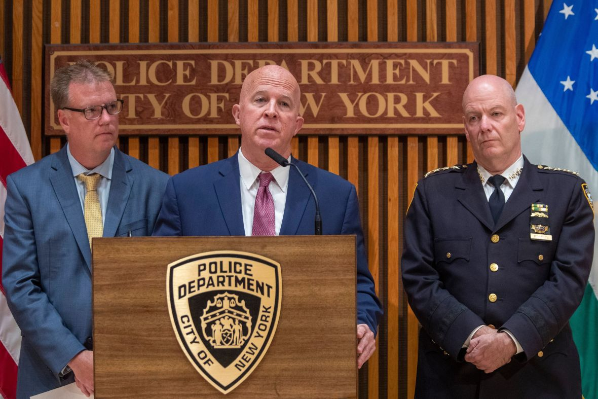 NYPD Officer Brian Mulkeen Death Press Conference