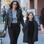 Padma Lakshmi and Daughter Krishna out With a Friend
