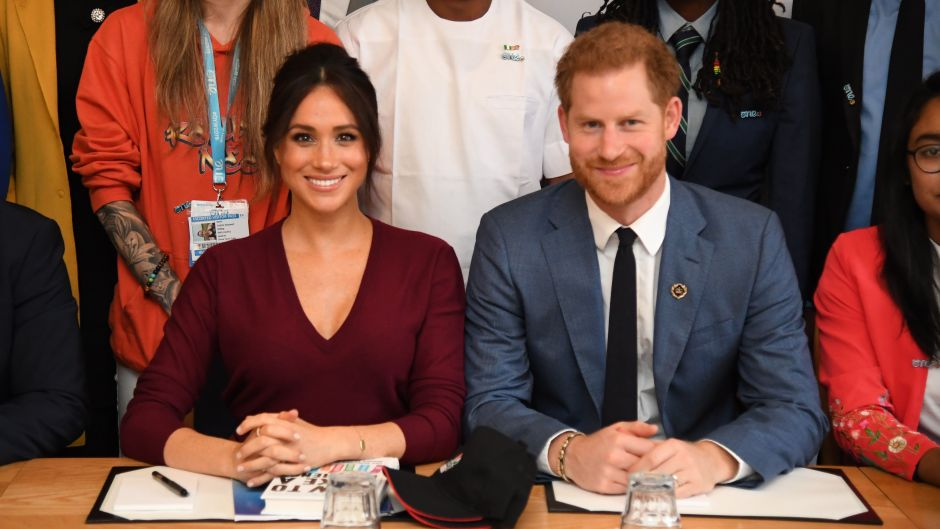 The Queen's Commonwealth Trust and One Young World roundtable, Windsor, UK - 25 Oct 2019