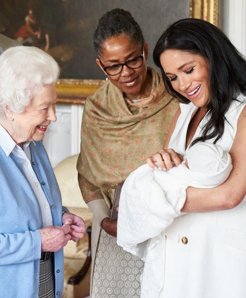 Meghan Markle Takes Archie to Meet Queen Elizabreth and Doria Ragland