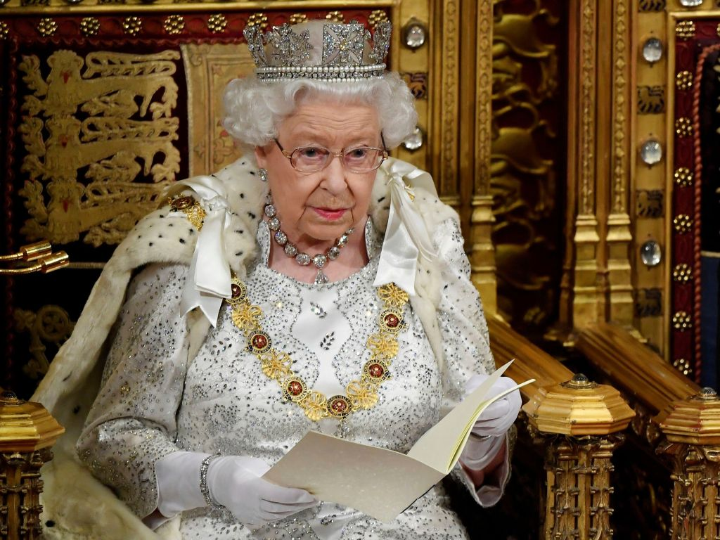 Politics Queen's Speech, London, United Kingdom - 14 Oct 2019
