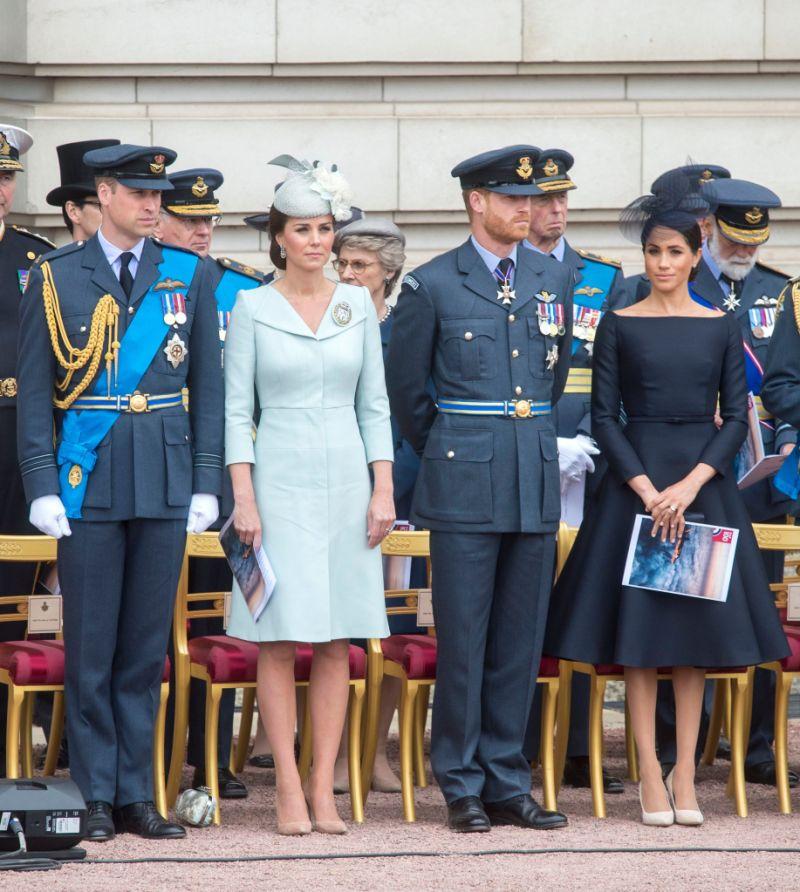 100th Anniversary of the Royal Air Force, Buckingham Palace, London, UK - 10 Jul 2018