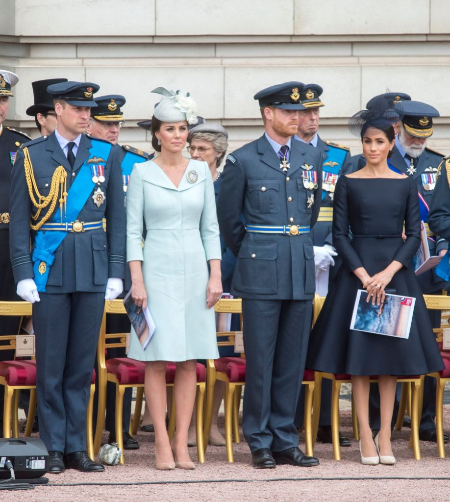 100th Anniversary of the Royal Air Force, Buckingham Palace, London, UK - 10 Jul 2018