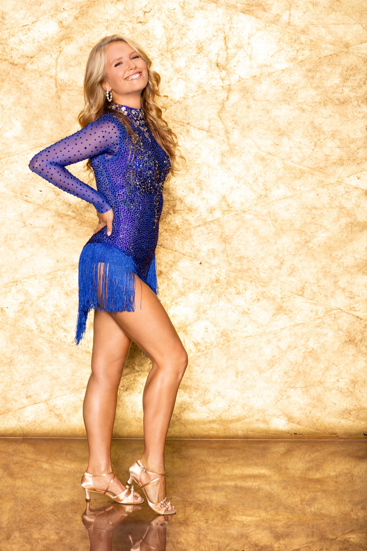 Sailor Brinkley Cook in a Promo Photo for 'Dancing With the Stars' Season 28