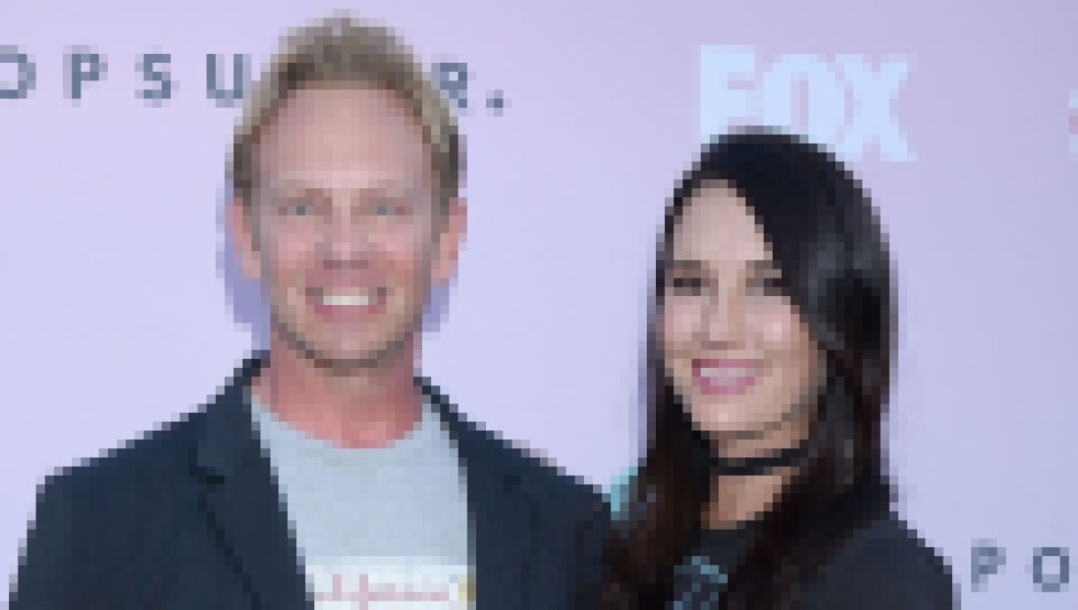 Ian Ziering and Erin Ludwig