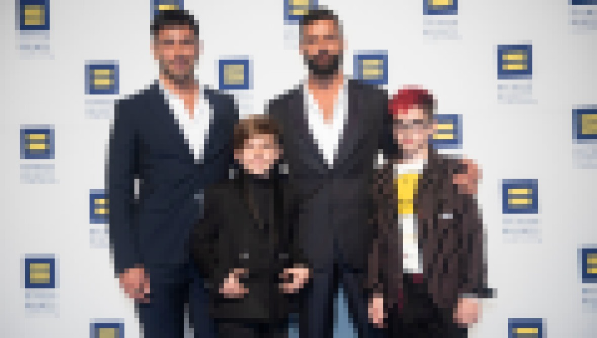 Ricky Martin and Husband Welcome Baby No. 4