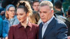 Ray Liotta and daughter Karsen