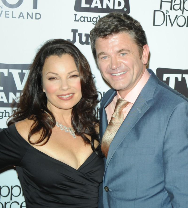Fran Drescher and John Michael Higgins