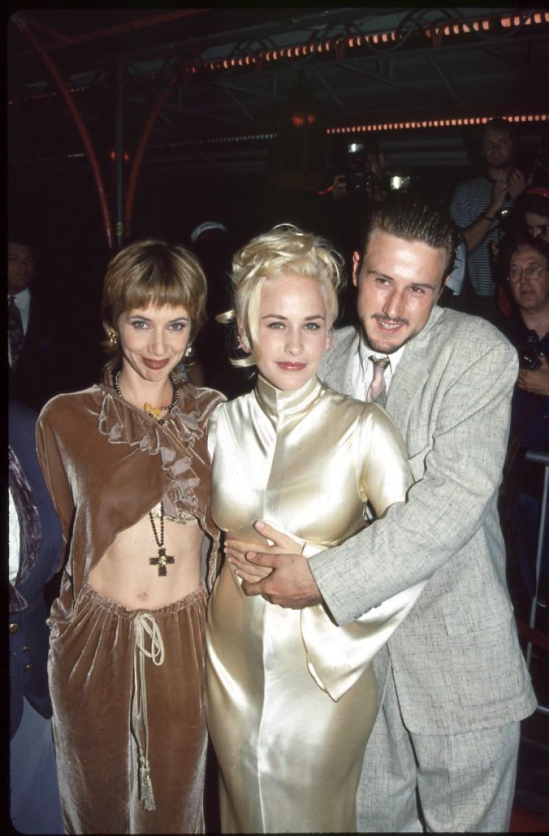 Rosanna Arquette, Patricia Arquette and David Arquette