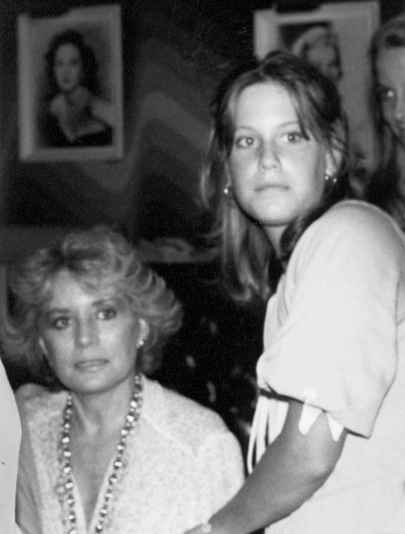 barbara walters and her daughter