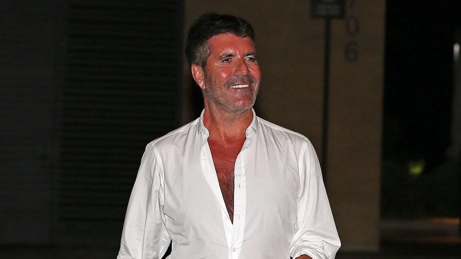 Simon Cowell celebrates his 60th birthday at Nobu in Malibu