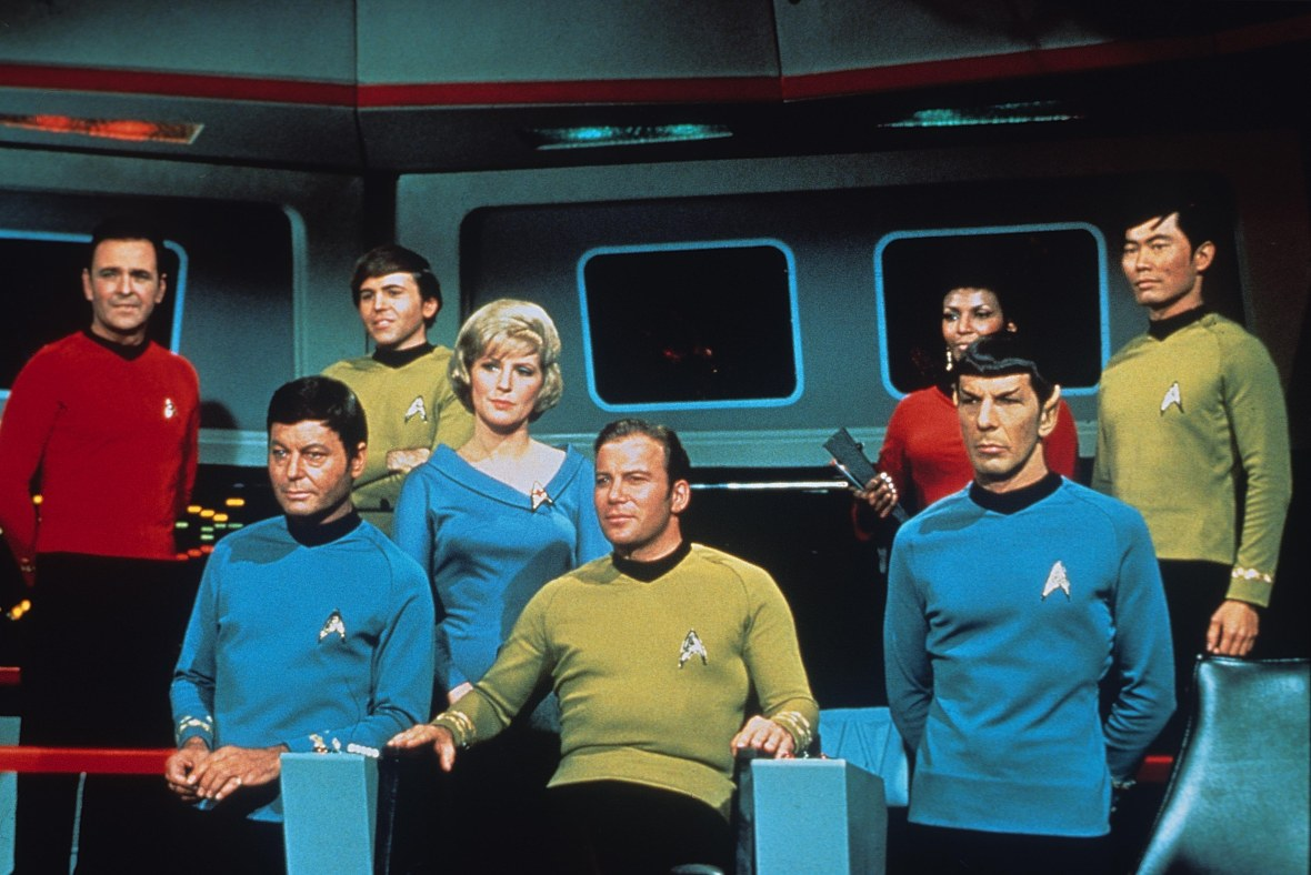 The Cast of 'Star Trek,' Which Aired From 1966-1969