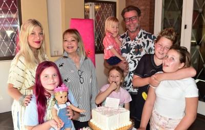 Tori Spelling Celebrates Daughter Hattie on her 8th Birthday