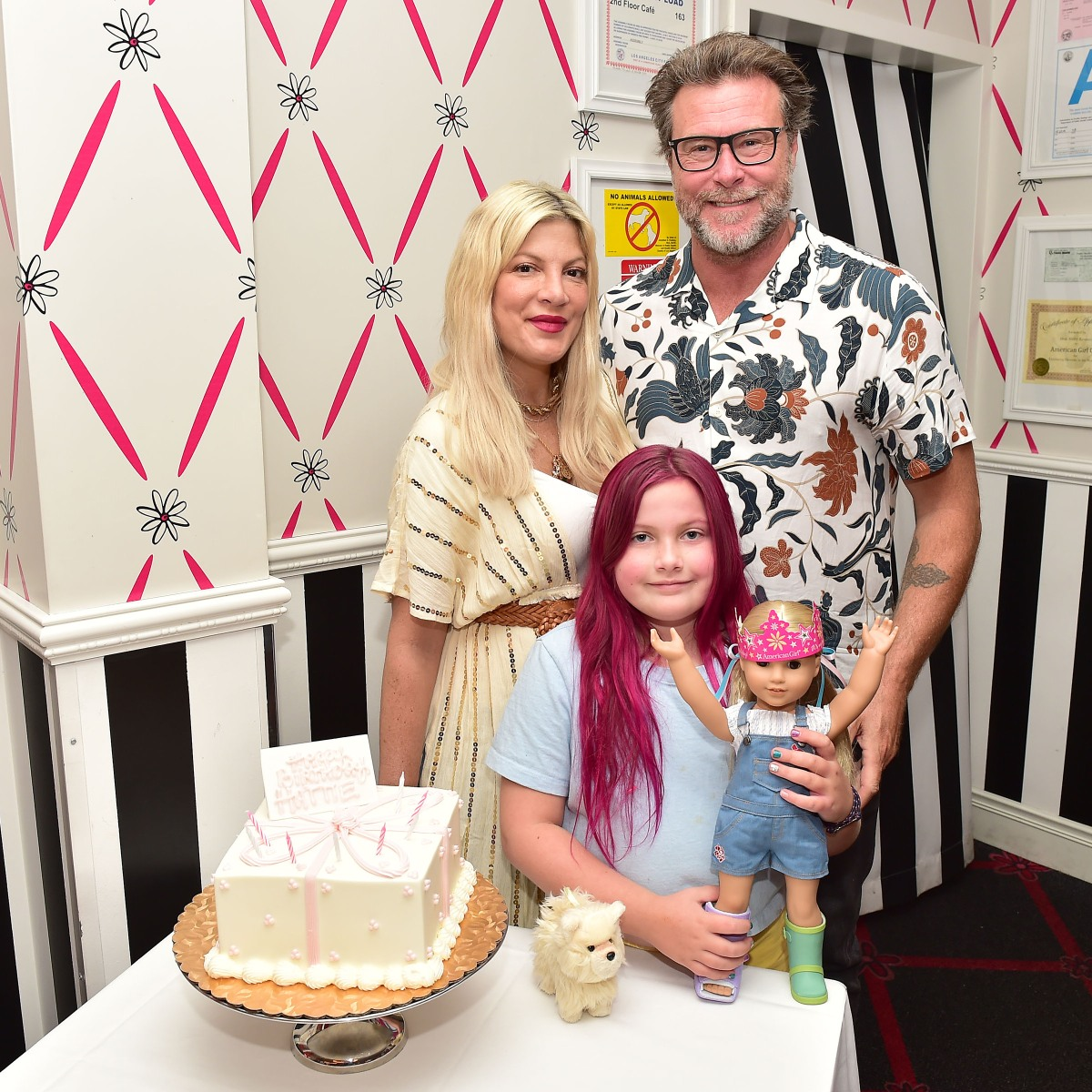 Tori Spelling Celebrates Daughter Hattie's 8th Birthday — and Reunites With Mom Candy Spelling!