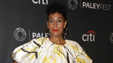 Tracee Ellis Ross at the 2019 PaleyFest Panel for 'Black-ish'