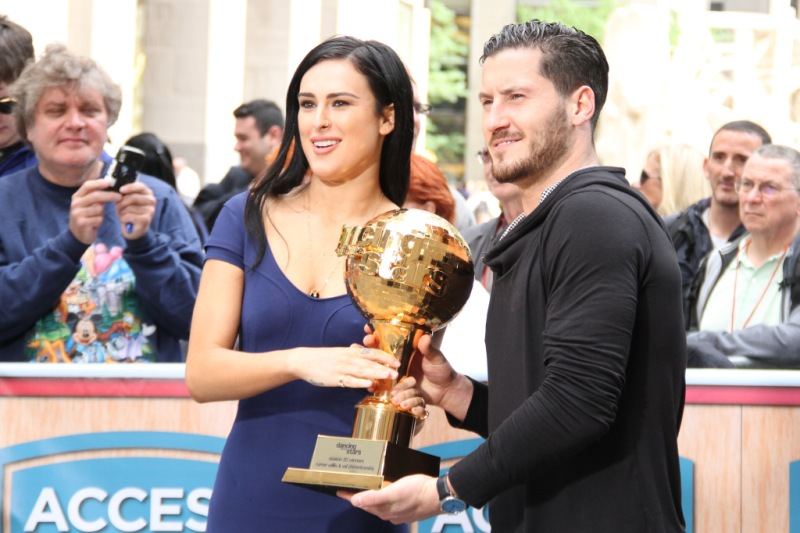val chmerkovskiy and rumer willis