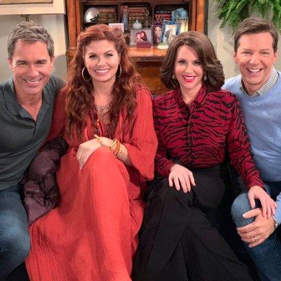 'Will & Grace' Stars Eric McCormack, Debra Messing, Megan Mullally and Sean Hayes