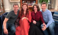 'Will & Grace' Stars Eric McCormack, Debra Messing, Megan Mullally and Sean Hayes