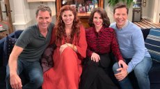 Eric McCormack Jokes That the Next 'Will & Grace' Reboot Will Be at 'an Old Folks' Home'