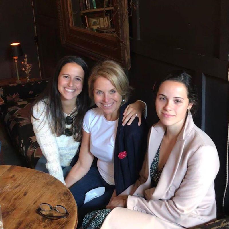 Katie Couric daughters