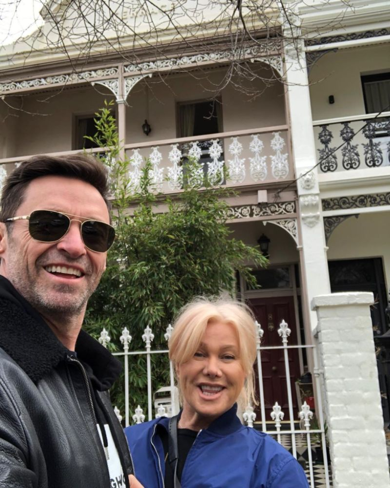 Hugh Jackman Deborrah Lee Furness