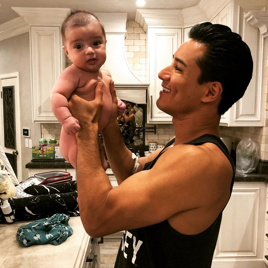 Mario Lopez Says Baby Son Santino Is Getting Super Chubby