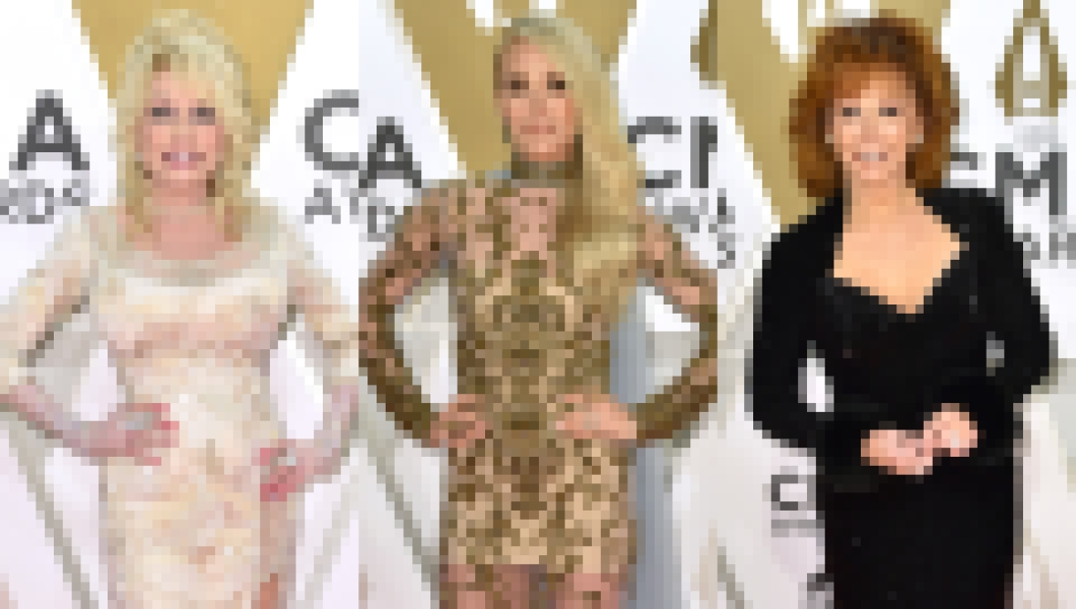 CMAs 2019 Red Carpet, Dolly Parton, Carrie Underwood, Reba McEntire