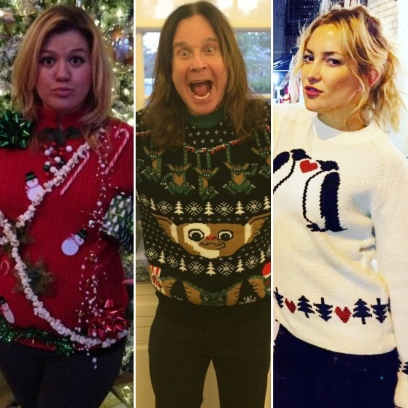 Deck the Halls! See Your Favorite Stars Wearing Ugly Christmas Sweaters