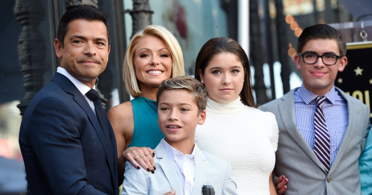 Kelly Ripa Has Been Filming 'Live' in the Caribbean With Her Family