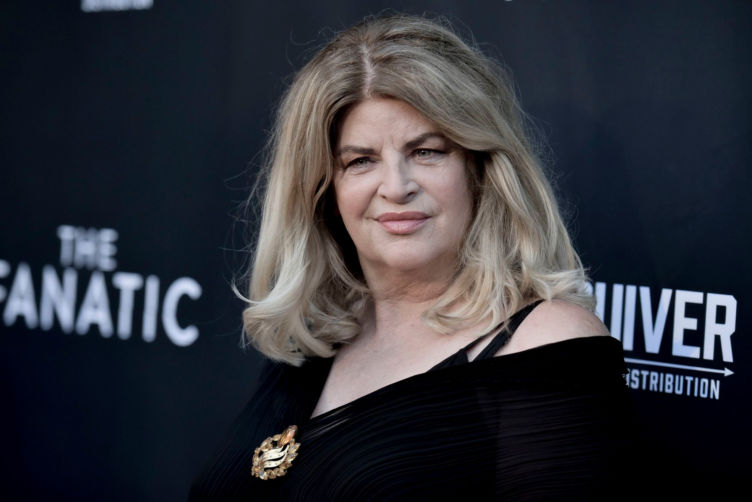 Kirstie Alley Gifts Flowers To Herself For Quitting Drugs