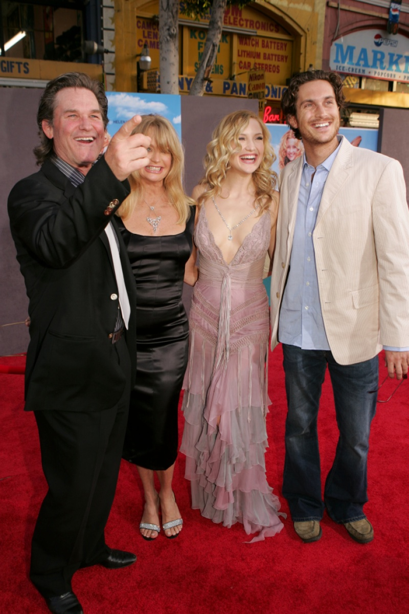 Goldie Hawn Kurt Russell Kate Hudson Oliver Hudson