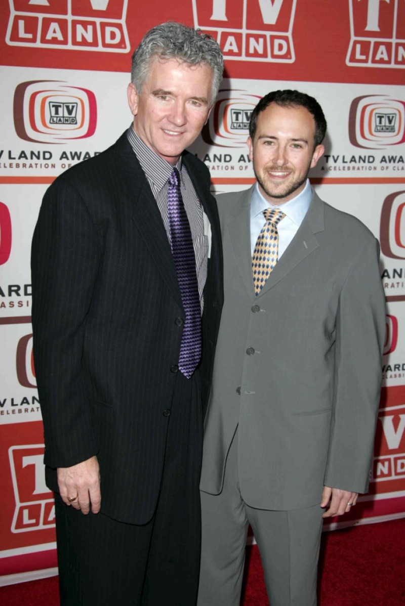 Patrick Duffy and son
