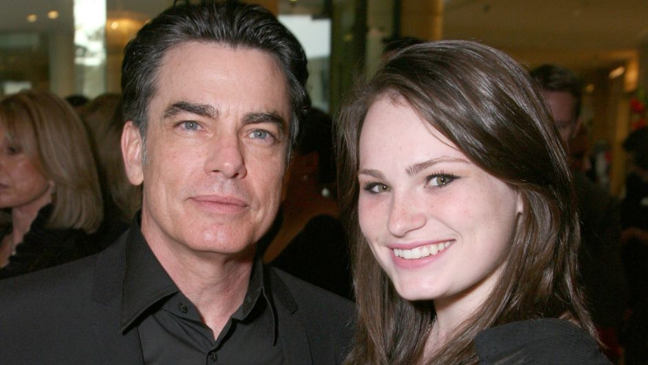 Peter Gallagher and daughter Kathryn