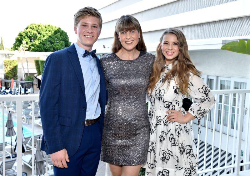 Robert Irwin, Terri Irwin and Bindi Irwin