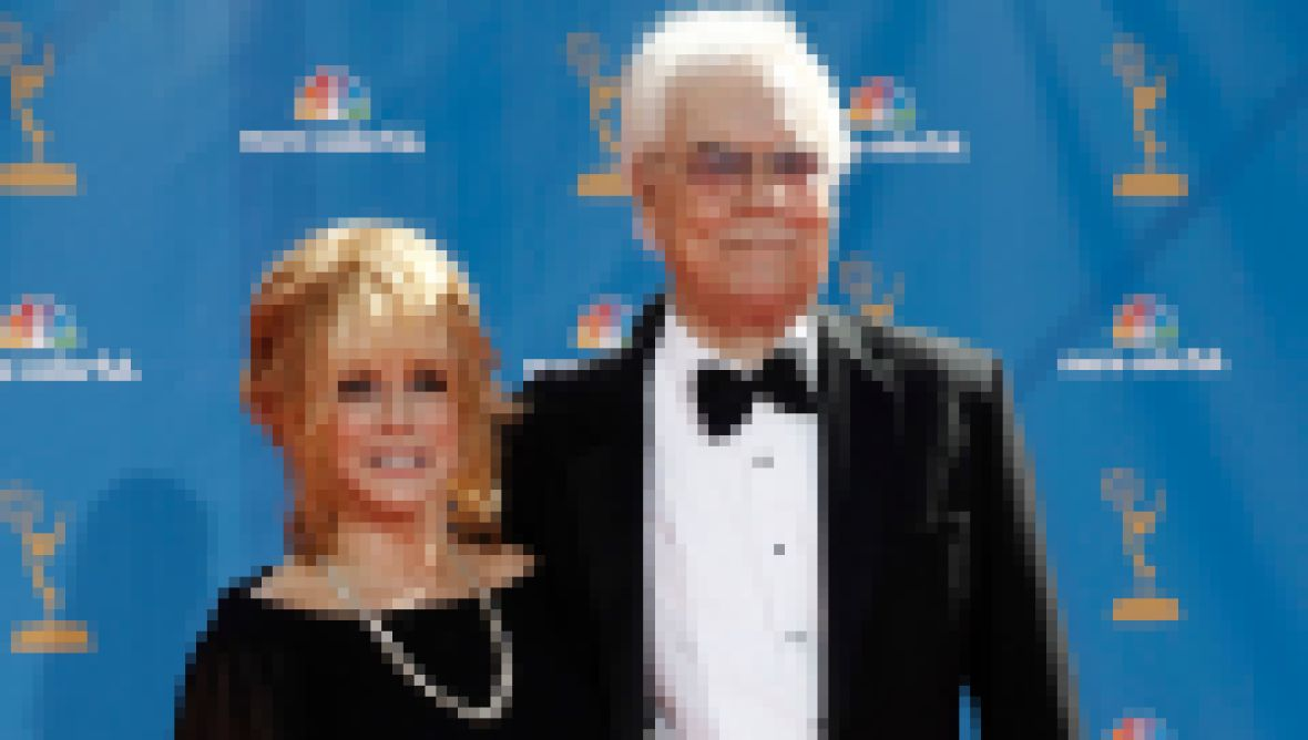 Ann-Margret and Roger Smith at the 2010 Emmys