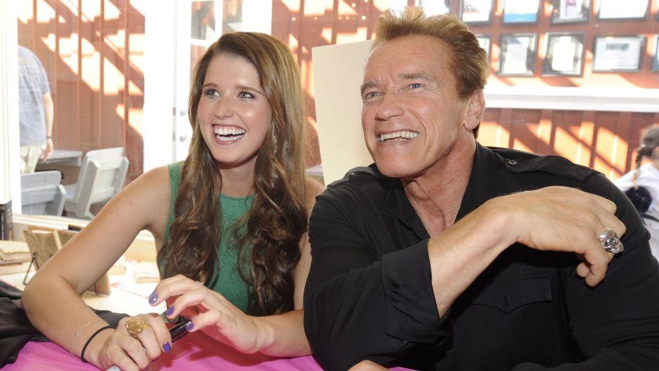 arnold Schwarzenegger katherine Schwarzenegger