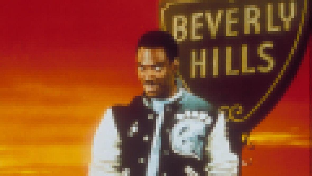 'Beverly Hills Cop' Movie Poster