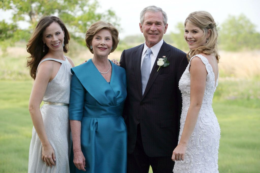 Jenna Bush (daughter of President George W. Bush) and Henry Hager marry at Prairie Chapel Ranch near Crawford, Texas, America - 10 May 2008