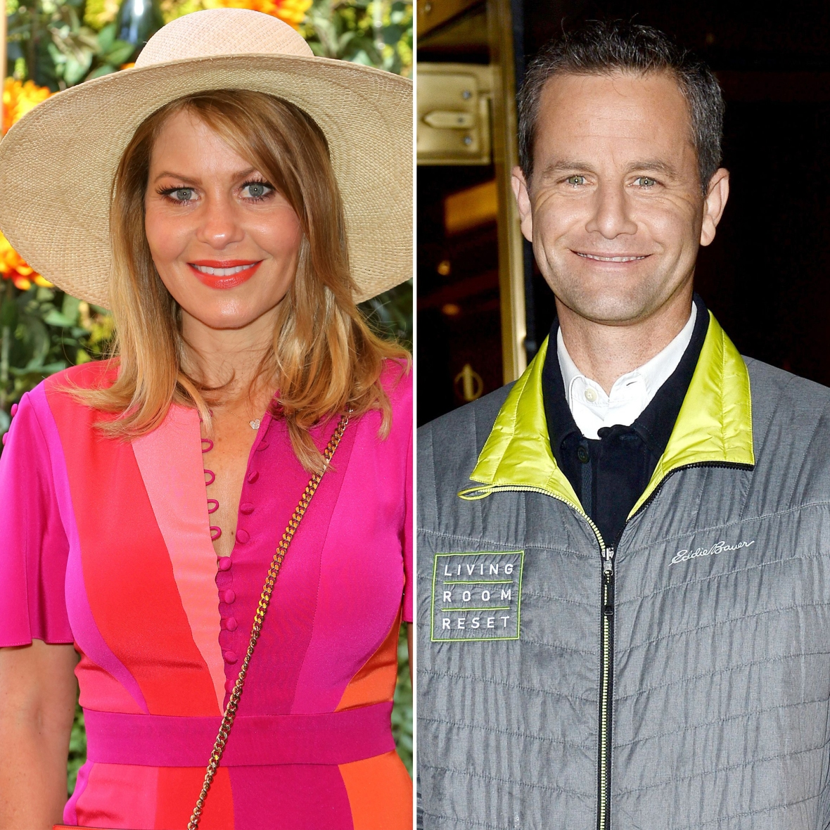 Candace Cameron-Bure and Kirk Cameron