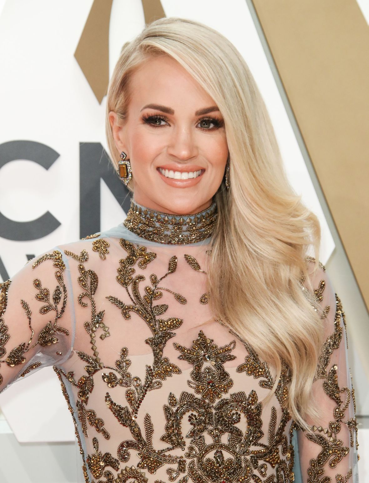 Carrie Underwood at the CMAs 2019 Red Carpet