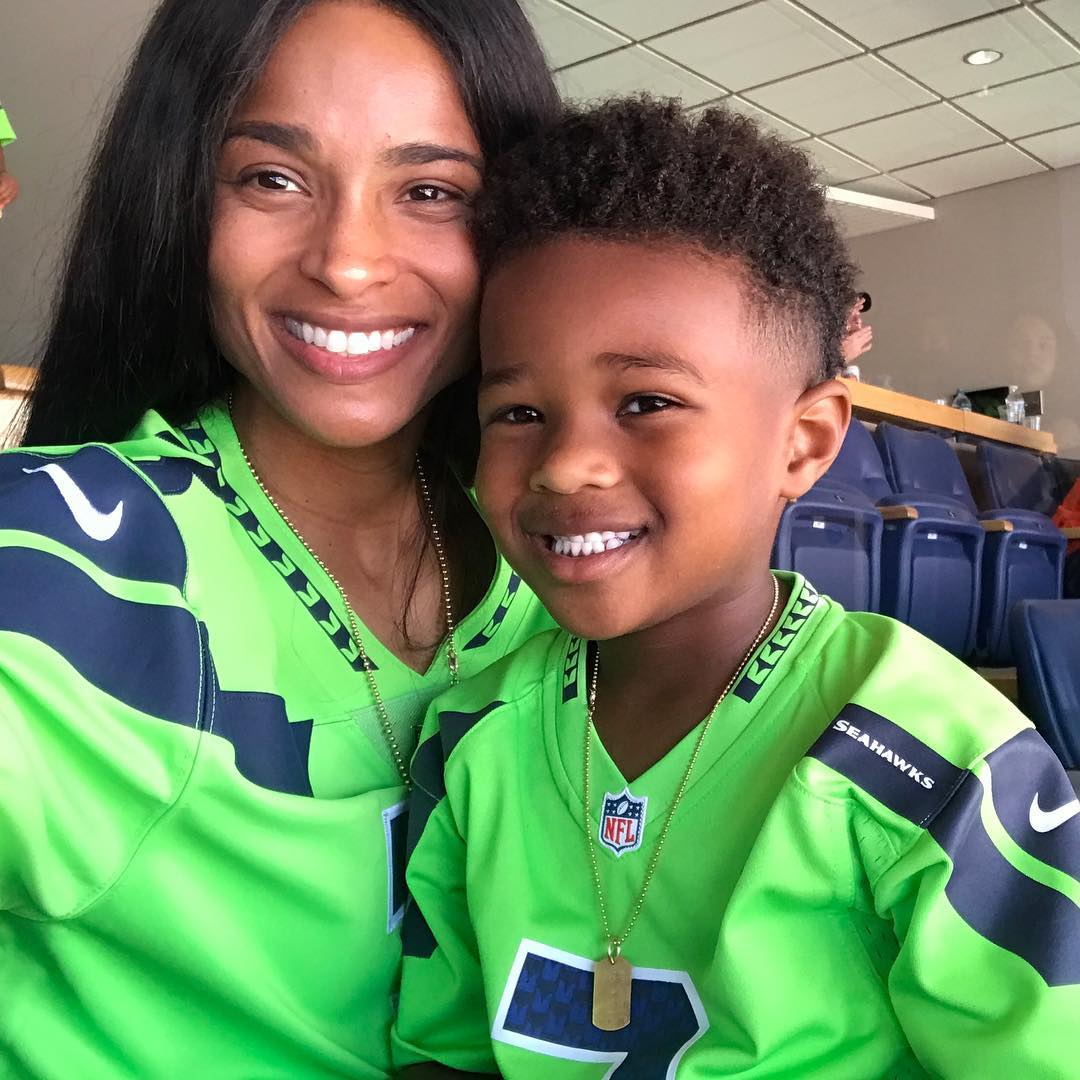 Ciara And Russell Wilson S Kids Meet Future Sienna Win