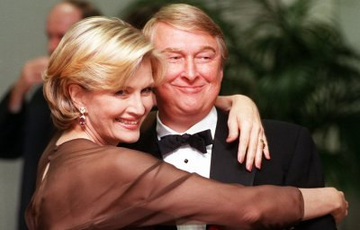 Diane Sawyer and Mike Nichols