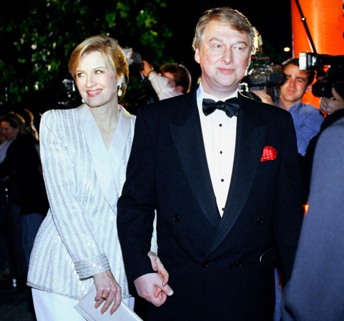 Diane Sawyer and Mike Nichols
