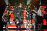 Donny and Marie Osmond Perform at the Flamingo, Las Vegas