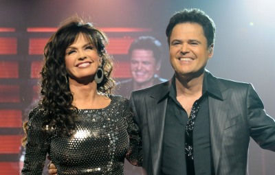 Donny and Marie Osmond Perform at the Flamingo, Las Vegas, America - 04 Dec 2008