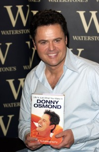 DONNY OSMOND AUTOBIOGRAPHY BOOK LAUNCH, WATERSTONES, LONDON, BRITAIN - 06 SEP 2005