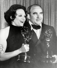 Ed Asner and Valerie Harper
