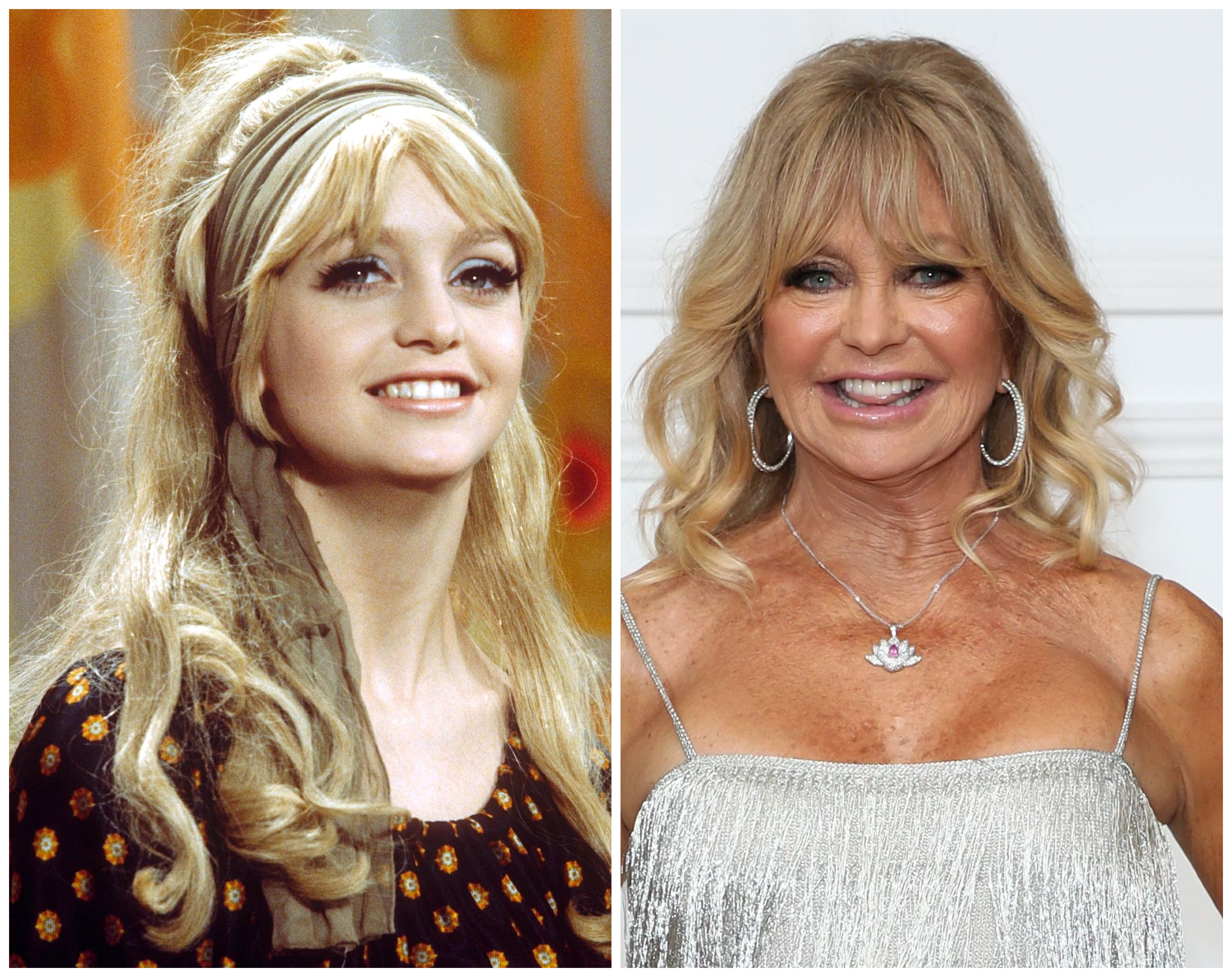 Goldie Hawn Then And Now See Overboard Star S Transformation