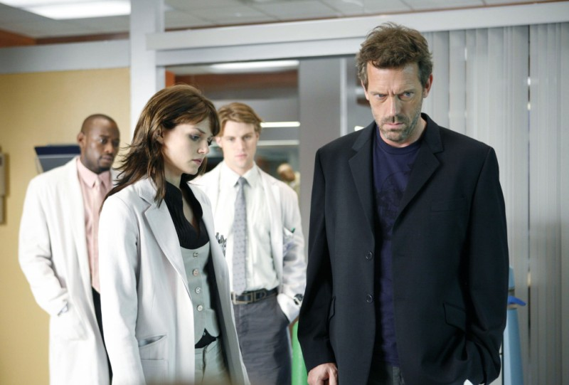 Hugh Laure and House cast