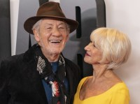 Ian McKellen and Helen Mirren at the NYC Premiere of 'The Good Liar'